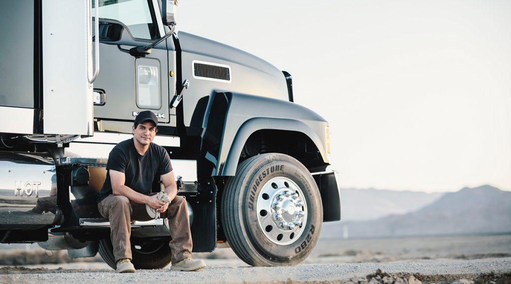 Canada truck driver