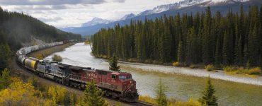 Canadian train
