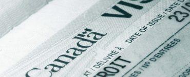 Passport visa Canada